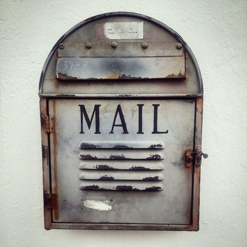 너에게 쓰는 편지 우체통 빈티지 Vintage