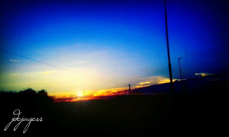 My sunsets to rise again💙💙 Blue Blue Sky Photography Beautiful Nature Julia De Jagers Dejagersphotography Sunset No People Outdoors Sky Nature Silhouette Scenics Beauty In Nature