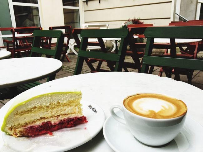 Beauty of the princess cake and coffee Fika Time Coffee Princess Cake Sweden National Food Joy Of Life Beauty Is Everywhere  Tasty Fresh Food Been There. The Week On EyeEm Best EyeEm Shot EyeEm Best Shots The Great Outdoors - 2017 EyeEm Awards Food And Drink Coffee - Drink Peaceful