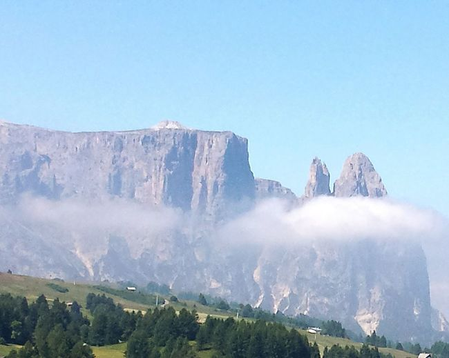 Holidays Mountain Trekking View From Alpe Di Siusi