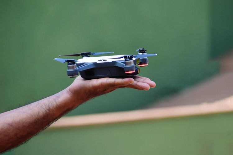 A palm sized drone Drone  Drones Small Drone EyeEmNewHere EyeEm Selects EyeEm Gallery Human Hand Holding Men Close-up