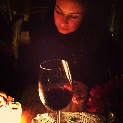 Dinner time with my dear friend at Mari Vanna, NY