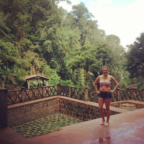 Aguas calientes Guatemala Hot Pools  Buring rainycloudlysunnycrazyweatherfamilytimebikini(;
