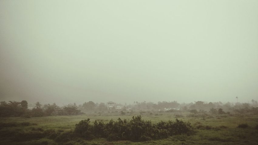 it feels like RAIN... Fog Nature Gloomy Weather Outdoors Landscape Tacloban, Philippines