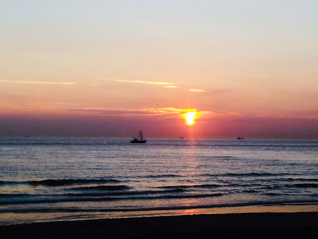 Sundowner Beach Boat Ostsee 😎 Colorful Lonely Goodfeeling Ocean