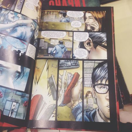 Комиксы супермен республика
