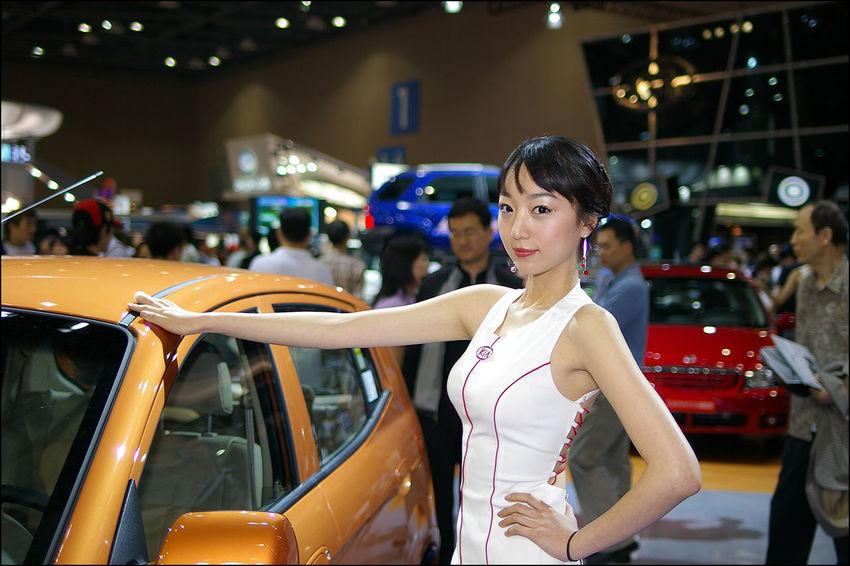 2004년 서울 모터쇼 Motorshow IstDs Portrait Model