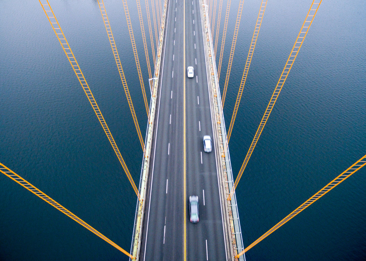 Close-Up View Of Bridge