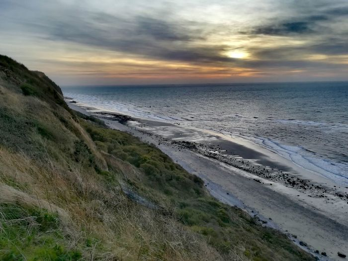 Sand Dune Water Low Tide Sea Marram Grass Sunset Beach Wave Desert Sand Bay Of Water Atmospheric Mood Dramatic Sky Cumulus Sky Only Moody Sky Forked Lightning Headland Suspension Bridge Lighthouse Romantic Sky Seascape Reed - Grass Family Surf FootPrint Seaweed Fishing Boat