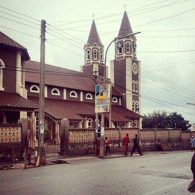 St. Peters Basilica, Kumasi Always gonna have a soft spot for Churches Church Ghana360 Ghana