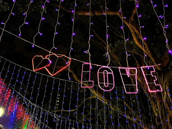 Sign Quote Heart Neon Neon Lights Decoration Light Strings Love Word Close-up Capital Letter Entertainment Fairy Lights Written Christmas Lights
