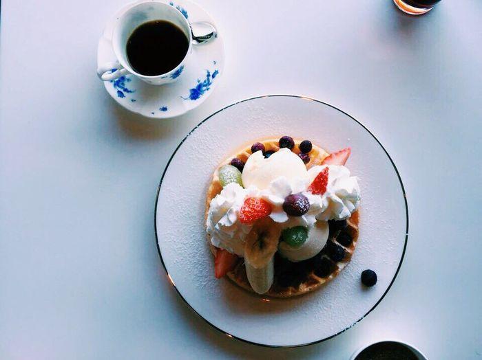 Haeundae Casaoro Dalmaji Waffle Coffee IPhone