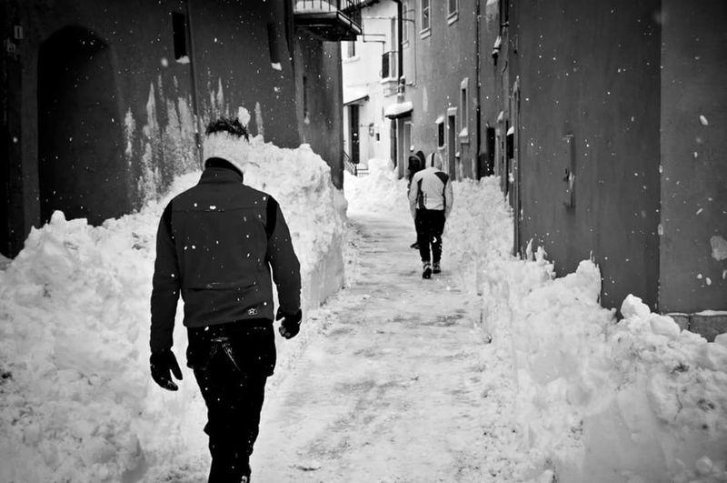 Snowing Cold Temperature
