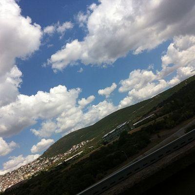 Şirkette çardakta otururkene 4 Istanbul Turkcell Maltepe Kartal bulut cloud sky gokyuzu manzara naturel