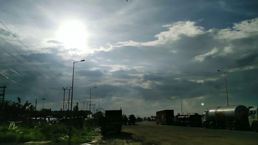 Autumnal cloud of West Bengal
