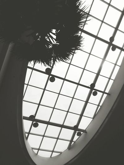 Cellphone Photography Daylight Manila Phillipines Ceiling Window Blackandwhite 8.20.16
