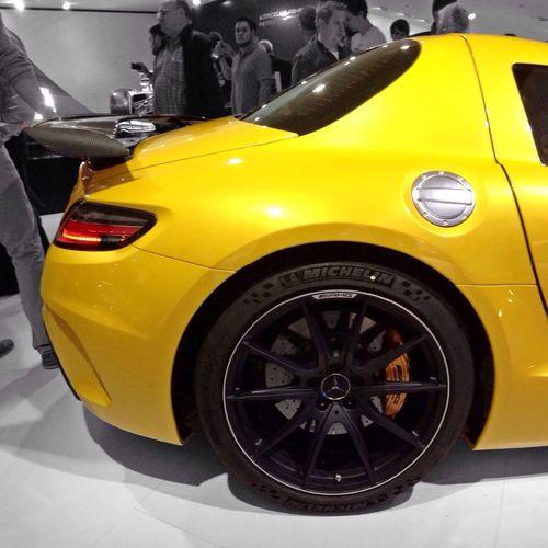 Nice! The @MercedesBenz #SLS AMG Coupé #BlackSeries #IAA2013 #MBCARIAA