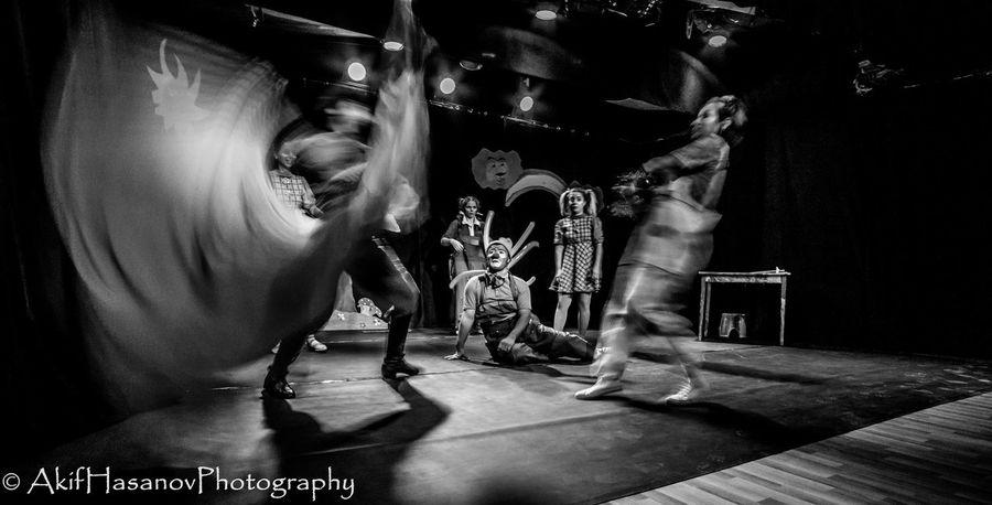 Baku Azerbaijan Pantomime Pantomime Theatre Stage - Performance Space Stage Perfomance Theatre & Music  Theatre Arts