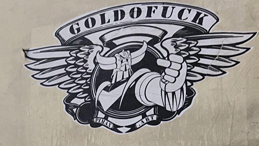 Goldorak Stickerart Genial