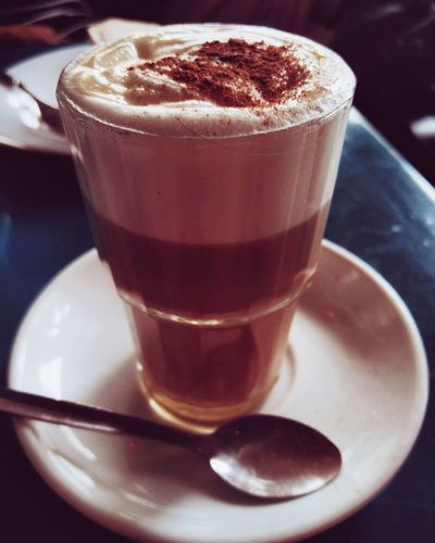 Galao Drink Coffee - Drink Food And Drink Refreshment Drinking Glass Frothy Drink Coffee Cup Milk Indoors  Latte Saucer No People Close-up Cappuccino Hot Chocolate Mocha Freshness Day Thick Galao