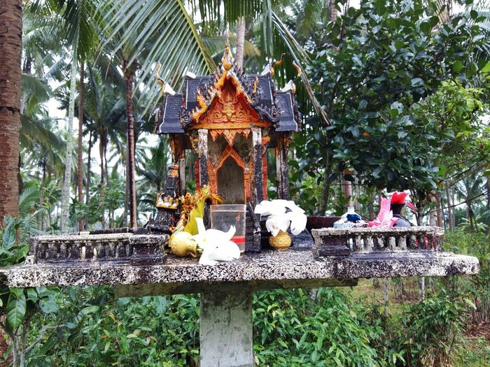 spirit house Asian  Asian Culture Belief Cult Faith Guardian Spirit Religion Satyr House Small Temple Spirit House Temple Temple - Building Temple Architecture Temples Thai Thailand