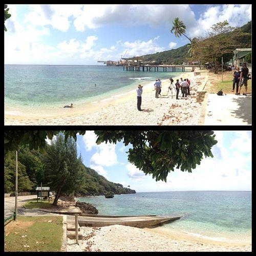 Same stretch of beach Christmasisland