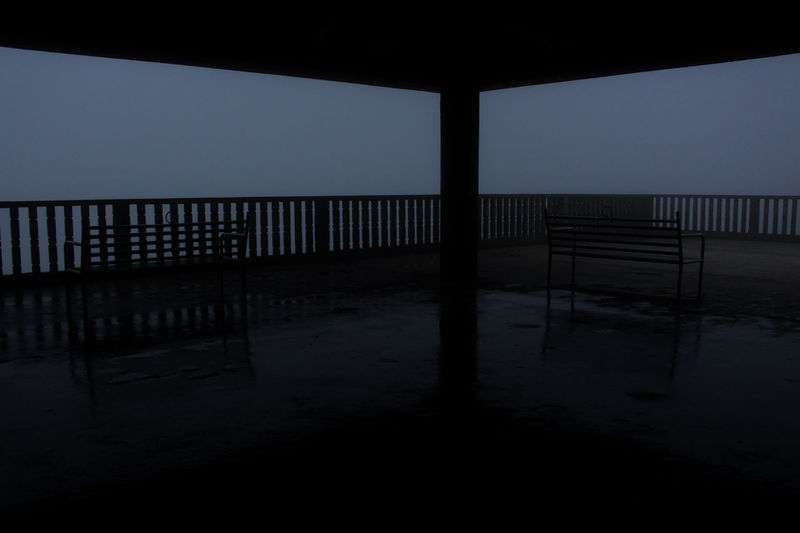 I'll be waiting for you. Silhouette No People Landscape Photography Themes Scenics Photographer Tagaytay2016 Tagaytay Philippines... TagaytayEscapade Reflection Lights Weather Photo Outdoors Photography Fog Day