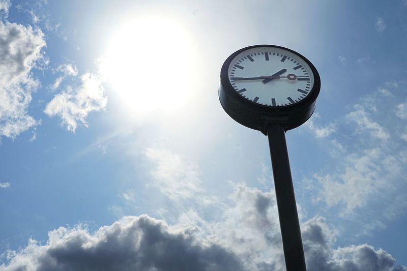 Clock @ sky