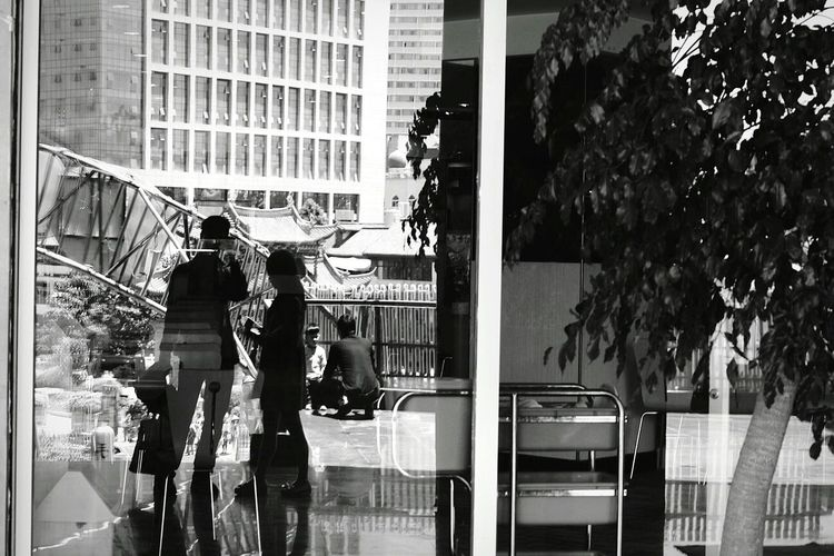 Open Edit People Photography Portrait Glass Reflection Mirrorselfie Street Photography B&w Photography Taking Photos Street Fashion