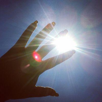 Sun Weather Beautiful Nails