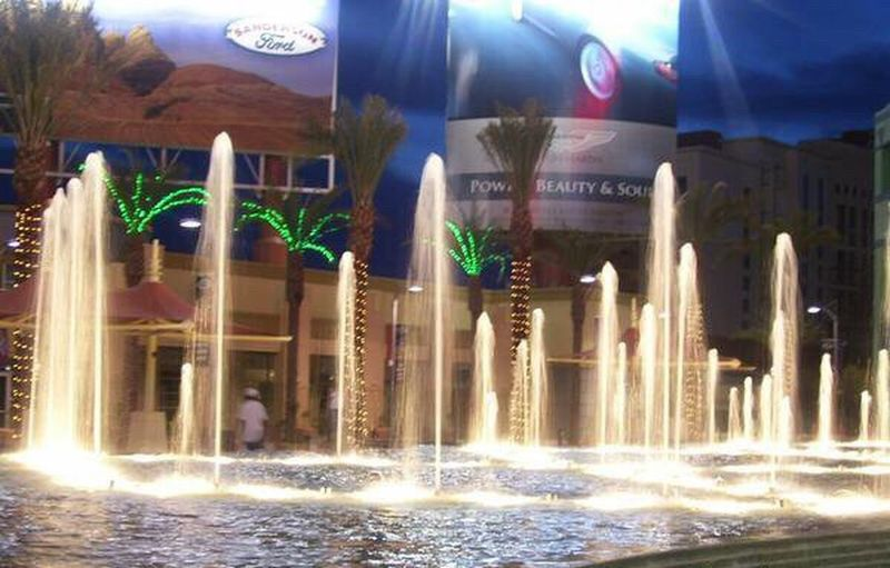 Arizona Glendale, AZ Westgate Entertainment District Water Fountains Fountains Water Dance Water Show Night Time Check This Out Hanging Out Night Life Fun