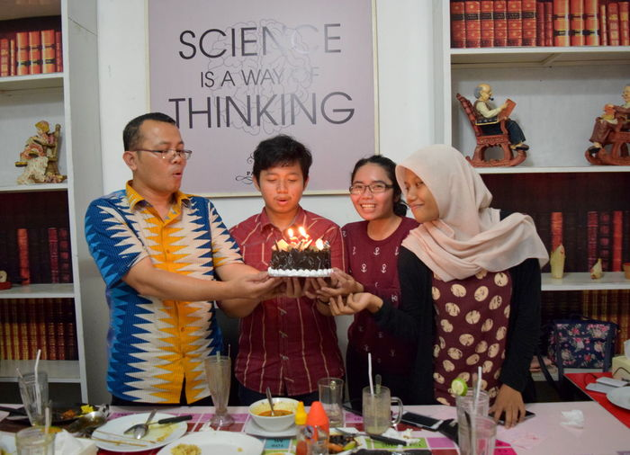I always feel blessed with you all Belonging Beloved Celebration Friendship Happy Birthday! Happy Time Scientist Togetherness