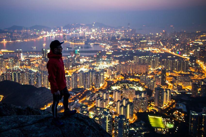 Photography Night Cityscapes HongKong