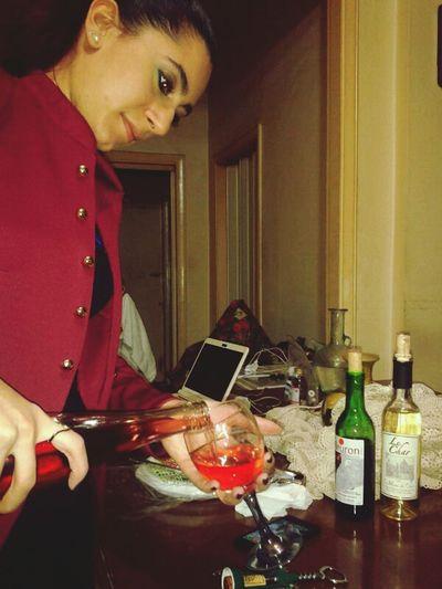 NYE Happy New Year 2014 Wine Rose Cheers Everyone