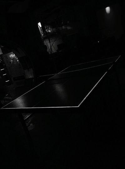 Day 211 - Black Light ping pong Berlin Blackandwhite Pingpong 365florianmski 365project Day211