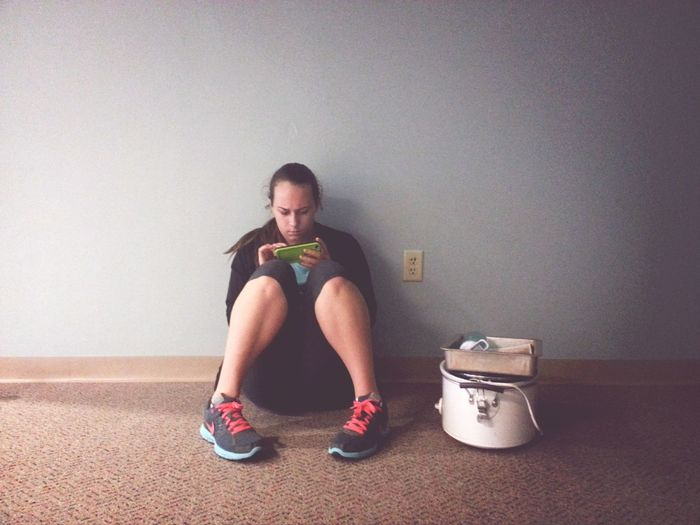 This is Sarah. Bestfriend Taking Photos Crockpot