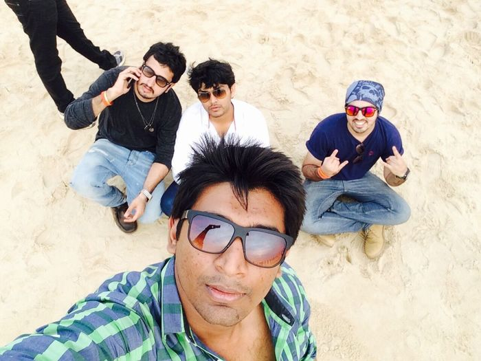 The EyeEm Facebook Cover Challenge Goa Beach Friends Chilling
