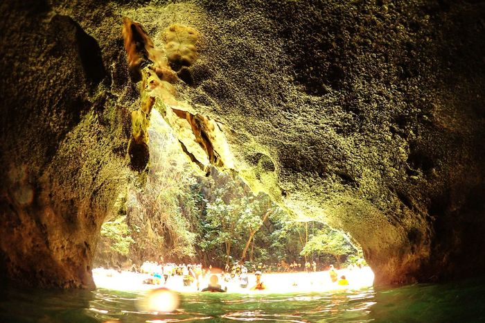Rock - Object Nature Water Cave Outdoors Beauty In Nature Sea Tree Beach Travel Cayaking Trang | Thailand Island