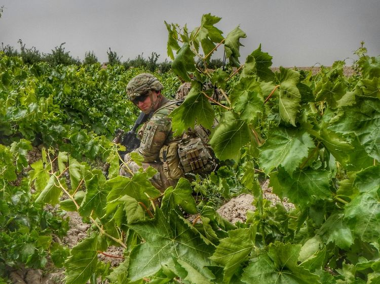 On Patrol Military Military Life Army Army Life Afghanistan Grape Farm Patrol  Paratroopers Paratrooper 82nd Airborne Division Deployment