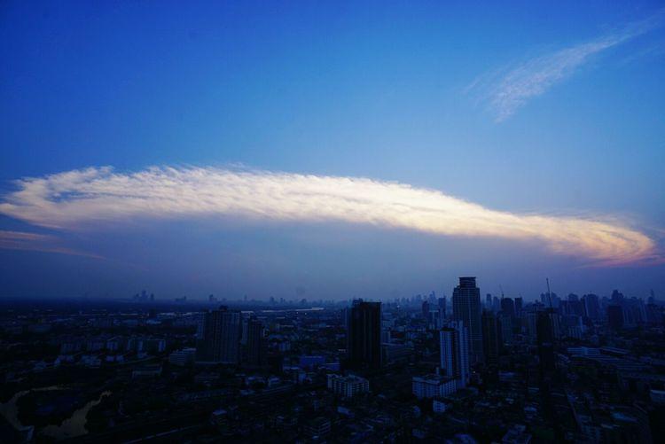 Bangkok Sky Amazing Clouds