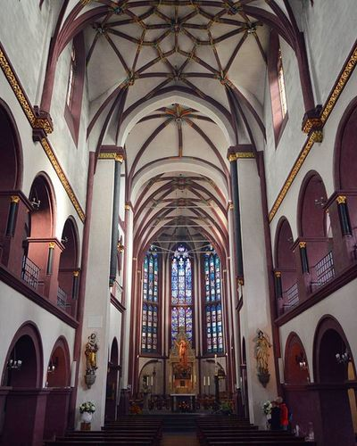 Liebfrauenkirche. Koblenz Liebfrauenkirche Church Kirche Altstadt Koblenz Rheinlandpfalz Architecture Spring Springingermany Travel Travel_2_germany Traveltheworld Explorenewplaces Explore City Travelgram Instatravel