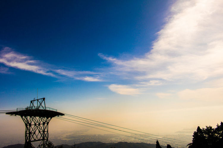Anime Animelover Beauty In Nature Blue Cable Car Cloud - Sky Day EyeEm Best Shots EyeEm Nature Lover Forest Photography Japan Photography Kobe Low Angle View Mountain Mt.Rokko Nationalgeographic Nature Nature Photography No People Outdoors Sky