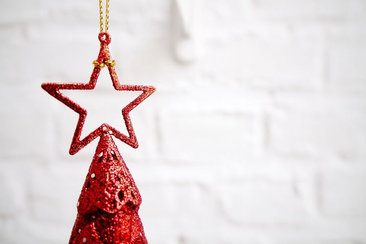 Christmas red star Stars Red Christmas Tree Colors Of Christmas The Culture Of The Holidays Copy Space Christmas Cards