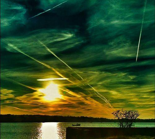 SETTLING Water Reflection Outdoors No People Nature Sunset Cloud - Sky Night Sea Storm Cloud Sky EyeEm Best Shots EyeEmBestPics EyeEm Best Edits EyeEm Selects Galaxy Astronomy