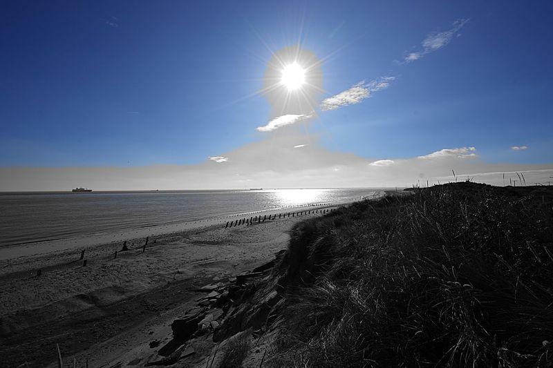 Sky Beach Sea Land Water Horizon Over Water Nature