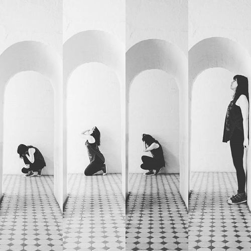 Depressao - Performance na Usinadogasometro Portoalegre  foto @leandrosalgueiro Dejavisiters2015 Dejavisite Blackandwhitephotography Performance Surreal Fineart Vscocam