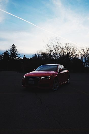 My Red Audi A3