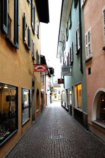 Locarno Narrow Street Street Pavedstreet Paved Road Pavedstreets