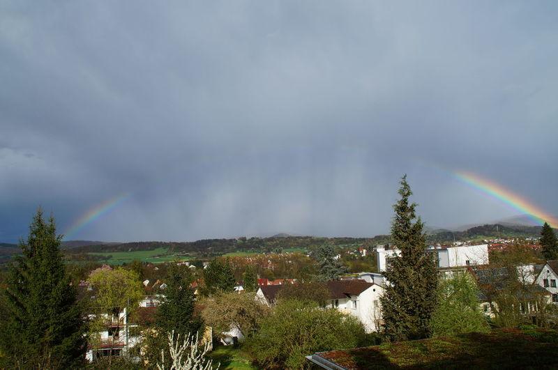 Regenbogen zur Konfirmation