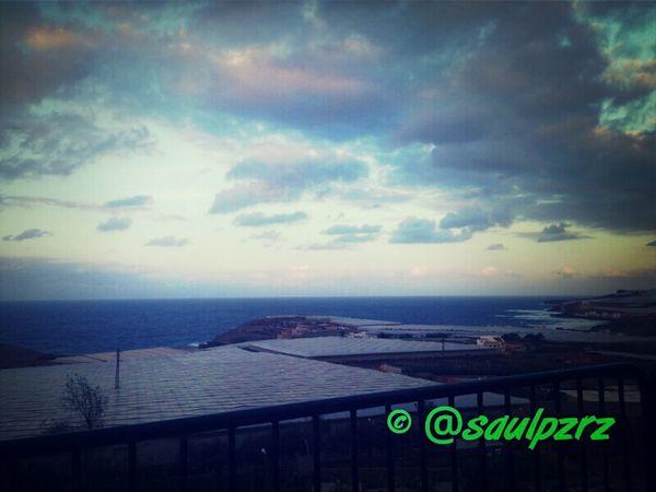 Vistas de la costa de Gáldar Gáldar Gáldar Clouds Gran Canaria